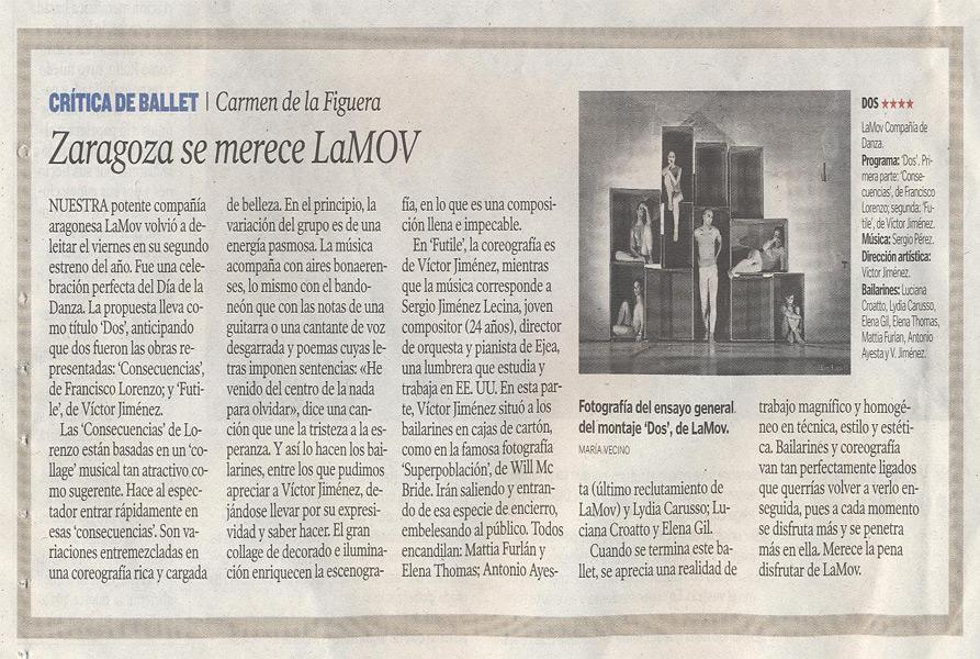 DOS, Zaragoza se merece LAMOV