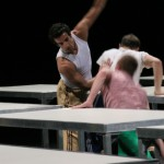 Ópera de Lyon. One flat thing (William Forsythe)